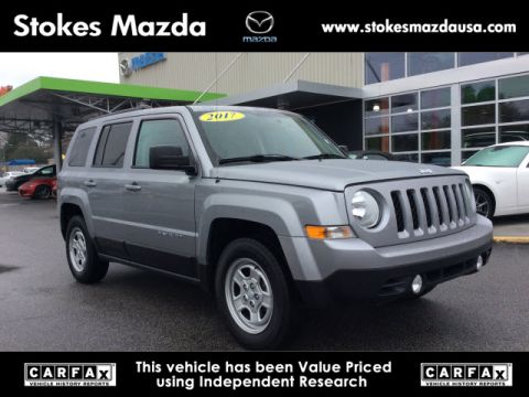 Pre-Owned 2017 Jeep Patriot Sport FWD 4D Sport Utility