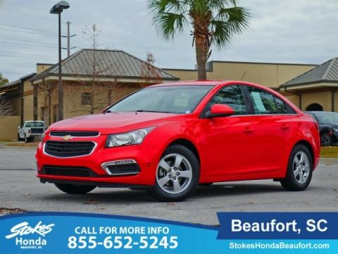 Pre-Owned 2016 Chevrolet Cruze Limited 1LT FWD 4D Sedan