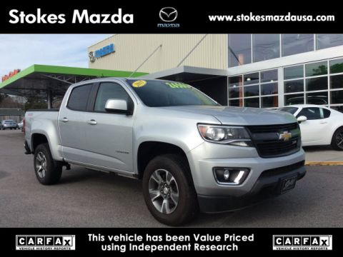 Pre-Owned 2015 Chevrolet Colorado Z71 RWD 4D Crew Cab