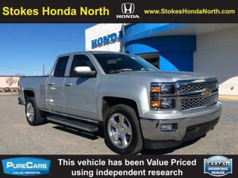 Pre-Owned 2015 Chevrolet Silverado 1500 LT RWD 4D Double Cab