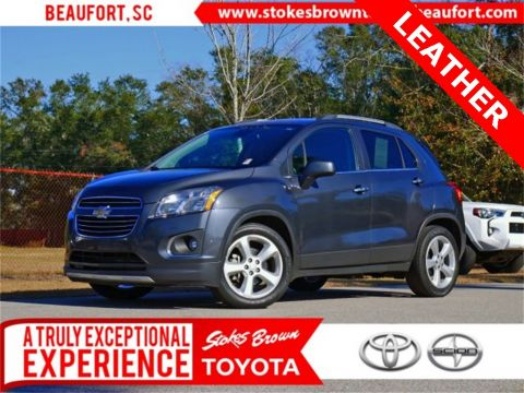 Pre-Owned 2016 Chevrolet Trax LTZ FWD 4D Sport Utility