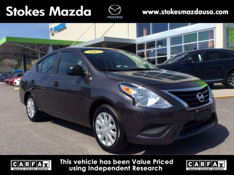 Pre-Owned 2015 Nissan Versa 1.6 S FWD 4D Sedan