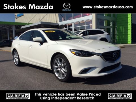 Certified Pre-Owned 2016 Mazda6 i Touring FWD 4D Sedan