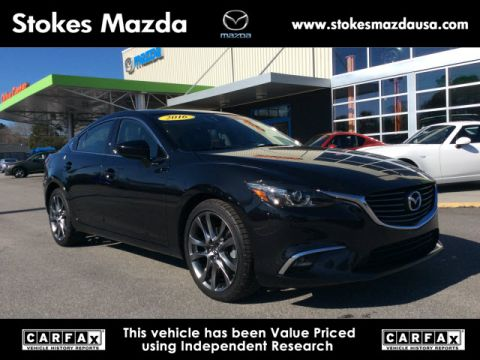 Certified Pre-Owned 2016 Mazda6 i Grand Touring FWD 4D Sedan