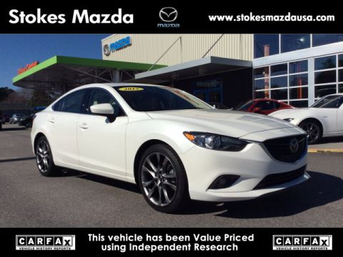 Certified Pre-Owned 2015 Mazda6 i Grand Touring FWD 4D Sedan