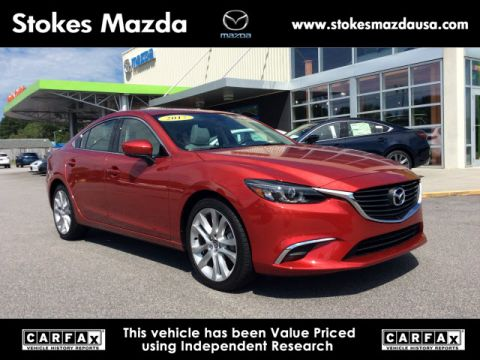Certified Pre Owned 2017 Mazda6 Touring