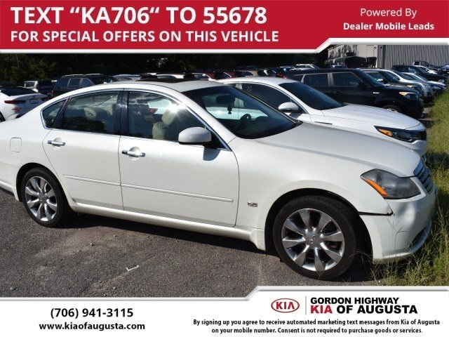 Pre Owned 2006 Infiniti M35 X 4d Sedan In North Charleston K3597a